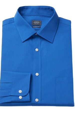 Velcro Adapted Medium Blue Shirt