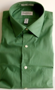 Cypress Green L/S Velcro Adapted Shirt