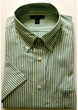 Men's Velcro® Adapted Short Sleeve Shirts