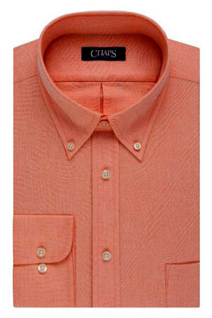 Velcro Adapted Sunset-Button-Down-Collar Long Sleeve