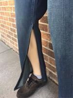 Zipper Leg Pants