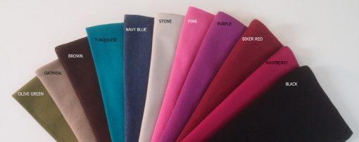 leg bag fabric colors