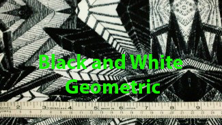 Black-and-White-Geometric