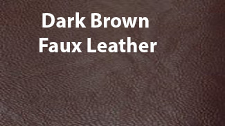 Dark-Brown-Faux-Leather