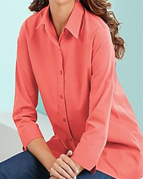 Coral-Blouse