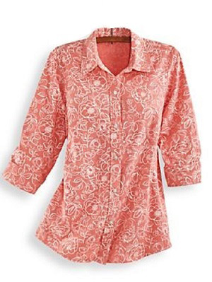 Cambray-Blouse-Coral-Floral